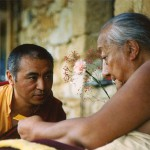 Pema Wangyal Rinpoche with Dilgo Khyentse Rinpoche